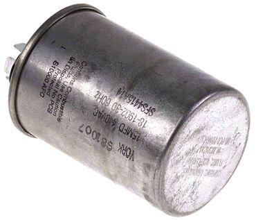 Betriebskondensator mit Metallmantel 440V 15µF