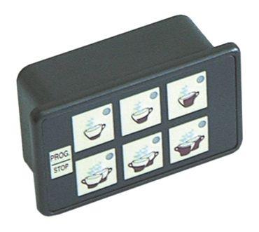 Astoria-Cma Tastatureinheit für Kaffeemaschine Brava-SME 6 Tasten