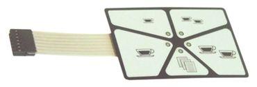 Bezzera Folientastatur für Kaffeemaschine B2000, BZ40 1319311