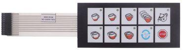 Astoria-Cma Folientastatur für Kaffeemaschine Sara-2GR, Sara-1GR