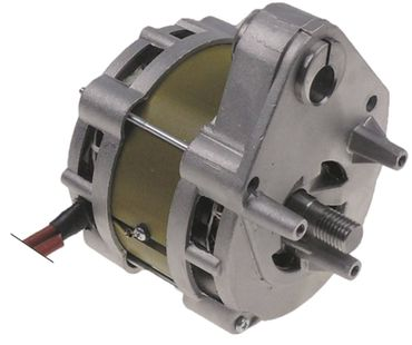 Cookmax Motor 50Hz Länge 130mm 230V Welle 15mm x 34mm