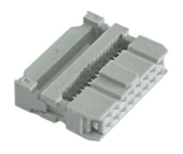 Steckverbinder für Flachbandkabel 16-polig