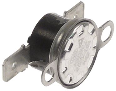 Anlegethermostat 250 V Lochabstand 23,8mm Anschluss F6,3 1NC