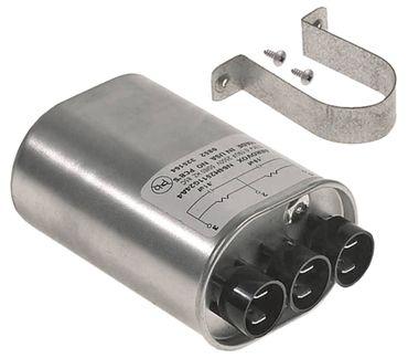 HV-Kondensator HCH-250515P für Mikrowelle 2-fach 50/60Hz 2500V