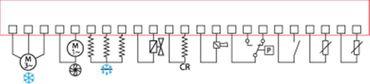 AKO AKO-17325 Schaltkasten 15500W NTC 1A Anzeige 3½-stellig 1 NTC