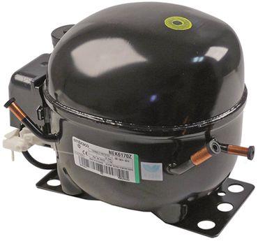 Kompressor NEK6170Z vollhermetisch 50Hz 10,4kg Höhe 187mm 1/4 HP