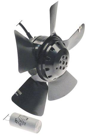 ebm-papst A2E250-AE65-01 Lüfter 5 Schaufeln Drehrichtung saugend