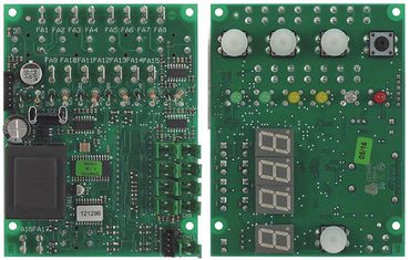 Comenda Platine für Spülmaschine Breite 90mm ACS DIGIT