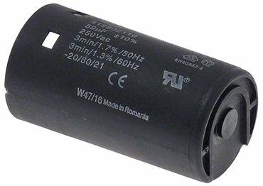 Betriebskondensator 50/60Hz 59µF 250V Becherkondensator