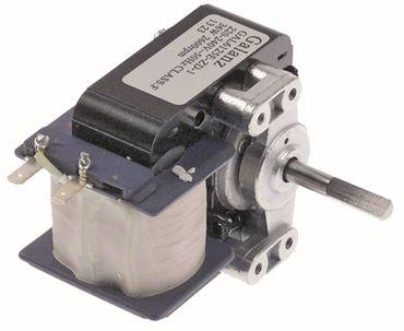 Horeca-Select Lüftermotor 18mm 2500U/min 2.600 U/min 6mm 50/60Hz