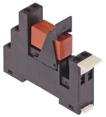 Inoxtrend Printrelais mit Sockel 2CO Rastermaß 5mm 8A 230VAC