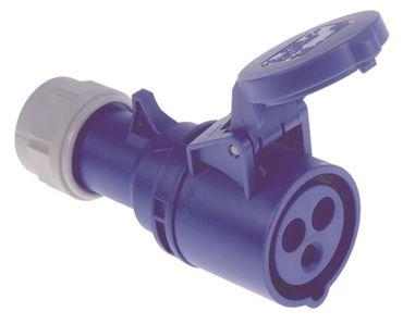 Kupplung 3-polig 2,5-6,0 mm² P+N+PE IP44 230V 230V CEE 32A