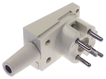 Stecker 5-polig gewinkelt gewinkelt 3P+N+PE D Thermoplast 250/400V