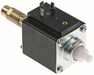 "FLUID-O-TECH 1106DHDLM1E Vibrationspumpe Ausgang 1/8"" IG 50Hz 70W"