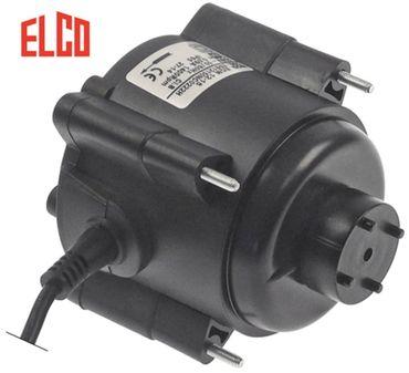 ELCO Lüftermotor 230V Kabel 1000mm 50/60Hz 14W Breite 80mm