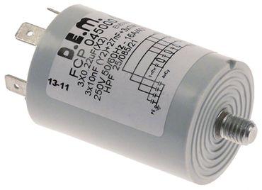 Silanos Entstörfilter FCP045000 für Spülmaschine E1000 mit PE 4