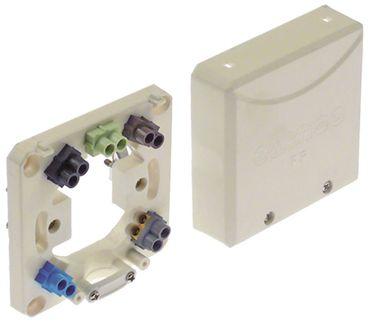 Geräteanschlussdose Höhe 23mm 3P+N+PE 400V 5-polig