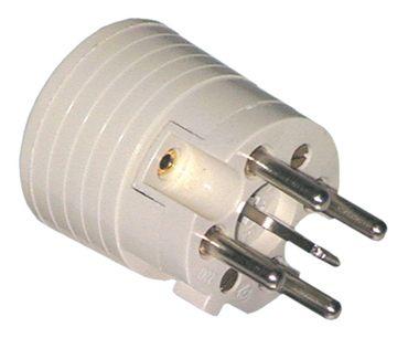 Stecker 5-polig gerade gerade 3P+N+PE D Thermoplast 250/400V 16A