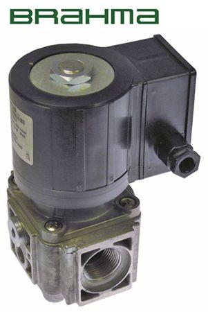 """BRAHMA Magnetventil Anschluss 1"""" 0,5bar Länge 111mm DN 30mm"""