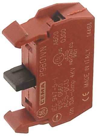 GENERAL ELECTRIC Kontaktblock 1NC 10A 660V P9B01VN max
