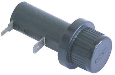 Batteriehalter 1,5V Anschluss Flachstecker 2,8mm/6,3mm Einbau 22mm