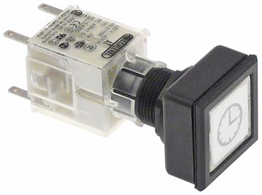 Hobart Taster AT Anschluss Flachstecker 2,8mm quadratisch weiß