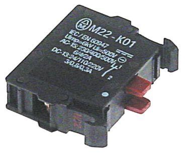 Ascobloc Kontaktblock für Braten AEP500, AEP508 Schraubanschluss