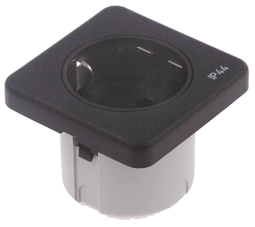 Steckdose Höhe Küchenzeile ~ steckdose 240v höhe 60mm einbau 45mm ip44