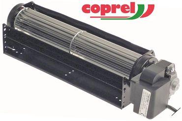 COPREL TFR Querstromlüfter Anschluss Kabel 3000mm 15mm ø 45mm