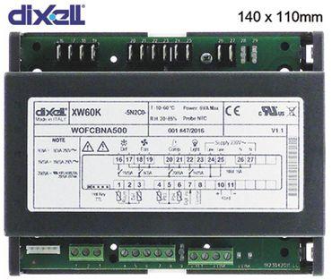 DIXELL XW60K-5N2C0 Leistungsplatine Einbaumaß 140x110mm NTC NTC 4