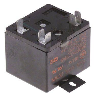 Anlaufrelais Anschluss Flachstecker 6,3mm mit Schraube 1NC 230V