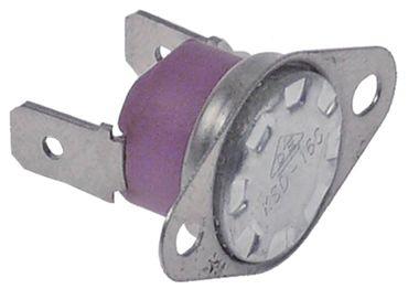Anlegethermostat 2-Lochbefestigung max. Temperatur 210°C 250V 1NC