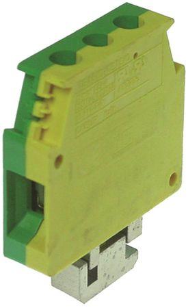 Angelo Po Reihenklemme für 31GE, 70FES2, 71PIE15A gelb/grün