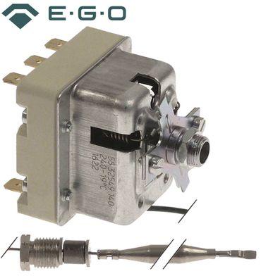 Bertos Sicherheitsthermostat 240°C 3-polig Fühler 6x80mm 3NC CNS