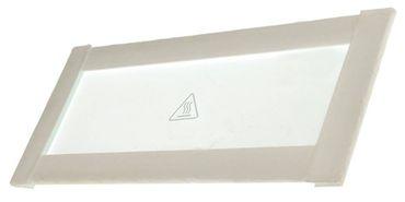 Moretti Glasscheibe für Pizzaofen MHK - MHC - MHB, AHK rechteckig