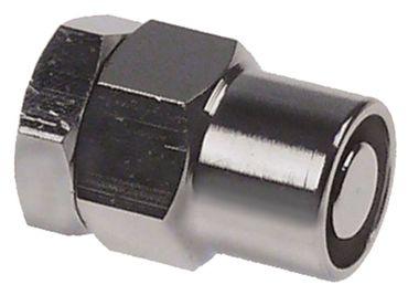 """Ablaufrohr Länge 35mm SW 22 1/8"""""""