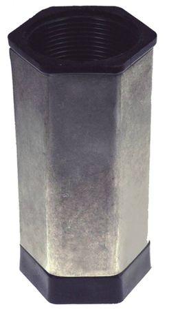 "Angelo-Po Gerätefuß 1½"" IG Höhe 125mm SW 55"