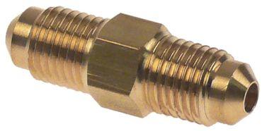 "CASTEL 7110/2 Doppelnippel Anschluss 1/4"" U2-4"
