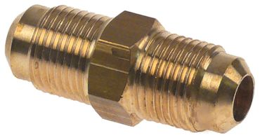 "CASTEL 7110/3 Doppelnippel Anschluss 3/8"" U2-6"