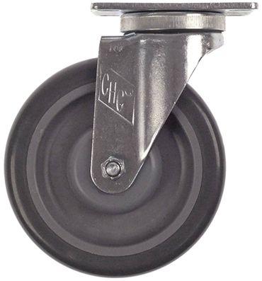 Imperial-USA Lenkrolle für IR2000-Series Plattenbefestigung Stahl