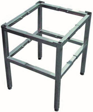 Untergestell für Spülmaschine ausziehbar Breite 400-630mm Stahl