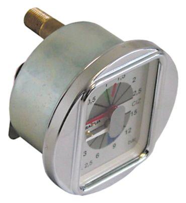 """Brasilia Manometer für Kaffeemaschine Agile, PORTOFINO 0-2,5 1/8"""""""