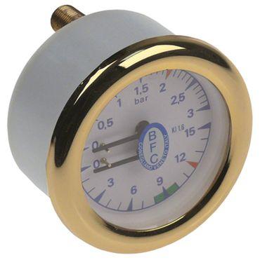 BFC Manometer für Kaffeemaschine Lira, DeLux-2-3-4gr, Lira-1gr