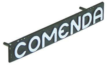 COMENDA Markenschild F2