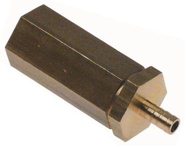 """Expansionsventil 1/8"""" IG Länge 48mm Schlauchanschluss 6mm"""