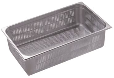 Gastronormbehälter gelocht GN 1/1 CNS 18/10 Tiefe 150mm