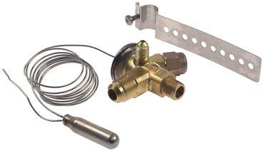 CASTEL 2220/4E Expansionsventil thermostatgesteuert gewinkelt 90°