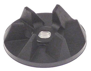 Mastro Mitnehmer 6 Zähne ø 38mm Höhe 11,5mm IG M6R Gummi