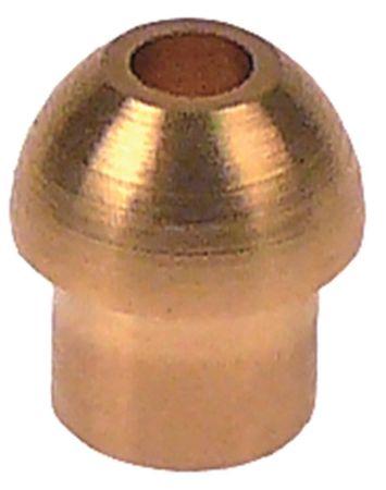 Lötnippel konisch ø 6mm