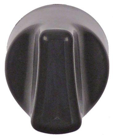Knebel für Piezozünder ø 32mm schwarz MERTIK-Gasregler